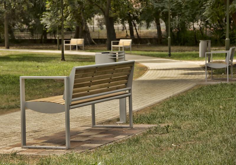 Exteriérové a uličné lavičky