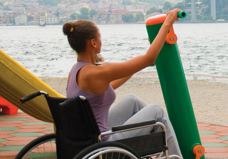 Fitnes prvky pre zdravotne postihnutých