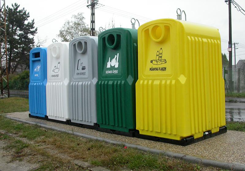 Nádoby na triedený odpad