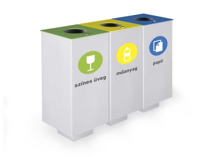 Cube odpadkový kôš na triedenie odpadu