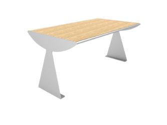 Centrál veľký stôl k 3 miestnej lavici