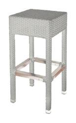 Polyratanová barová stolička