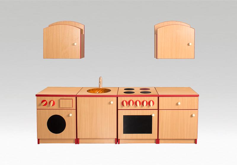 Drevená kuchynka