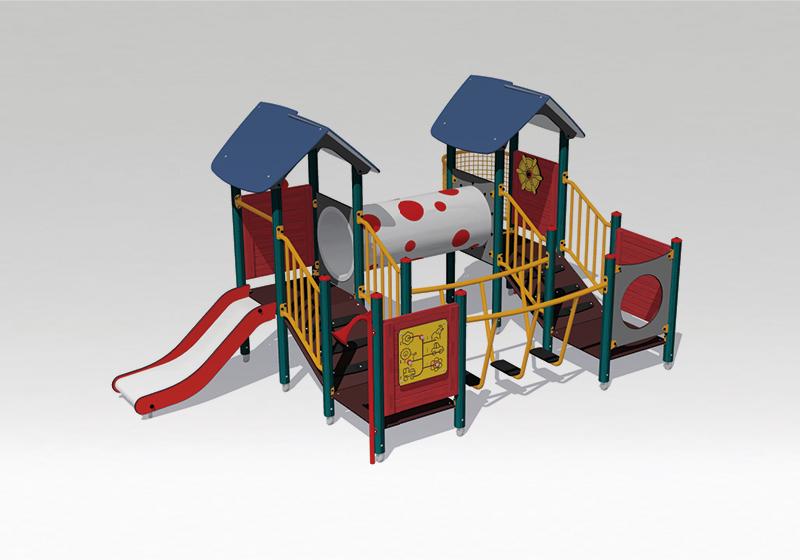 Nová generácia exteriérových hračiek