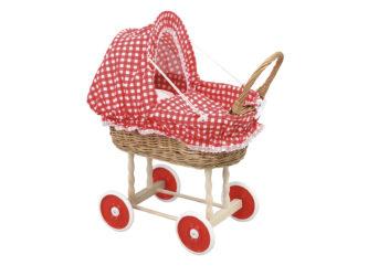 Prútený detský košík