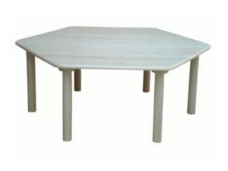Donald stôl šesťuholník
