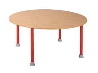 Rozprávkový stôl  kruh, kovová konštrukcia - 120 cm