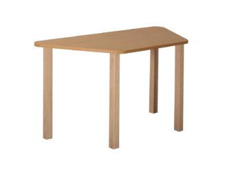 Rozprávkový stôl lichobežník, drevená konštrukcia
