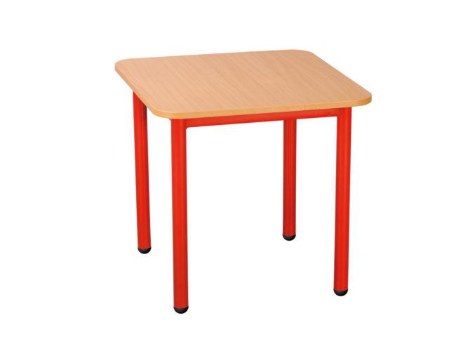 Rozprávkový stôl štvorec, kovová konštrukcia