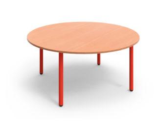 Rozprávkový stôl  kruh, kovová konštrukcia – 120 cm
