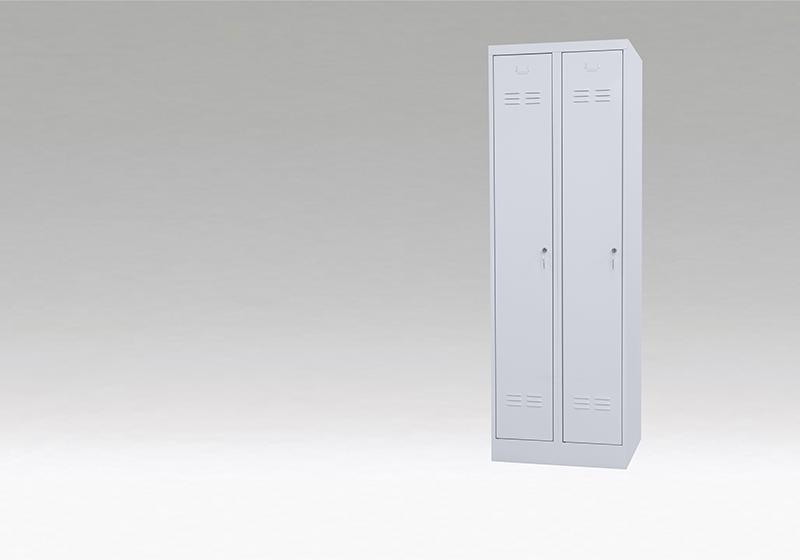Šatňové skrine s dlhými dverami