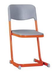 Plastový sedák a operadlo, stohovateľná