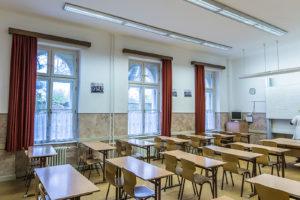 Zariadenie učební, vitríny