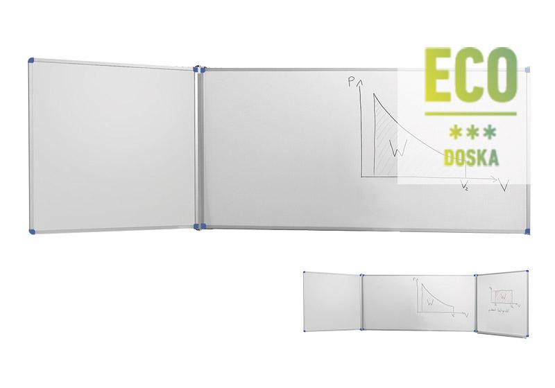 Classic ECO biele nástenné tabule s krídlami