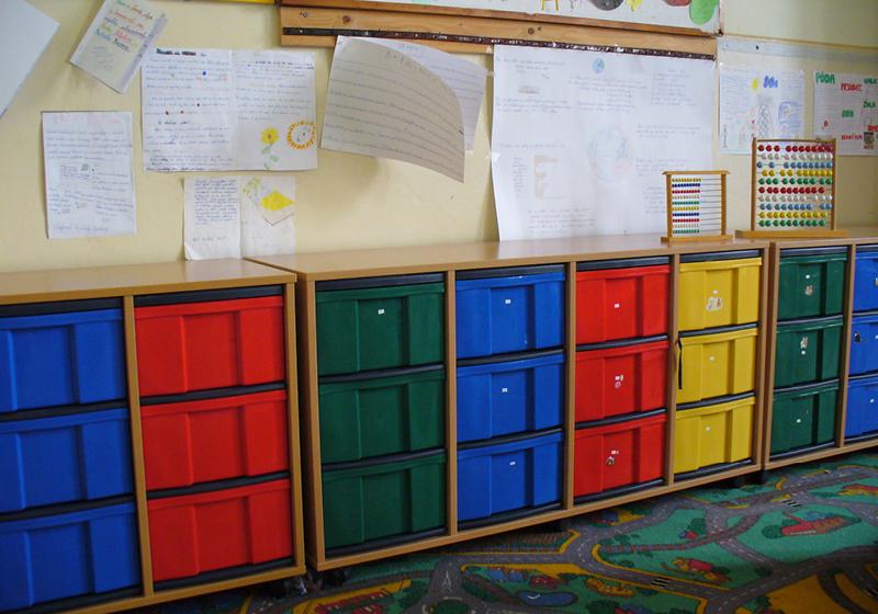Kombi škatuľové skrine