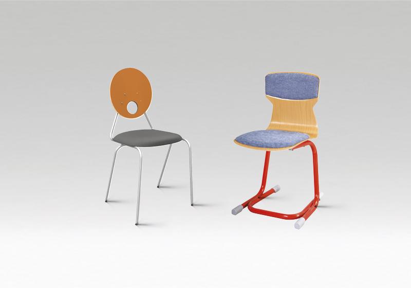 Stoličky do internátu