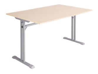 Laminátová nezaoblená doska stola