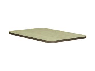 Laminátová doska stola nezaoblená, 120x50 cm