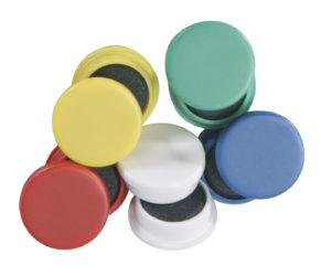 Tabuľové magnetky 30 mm, 10 ks