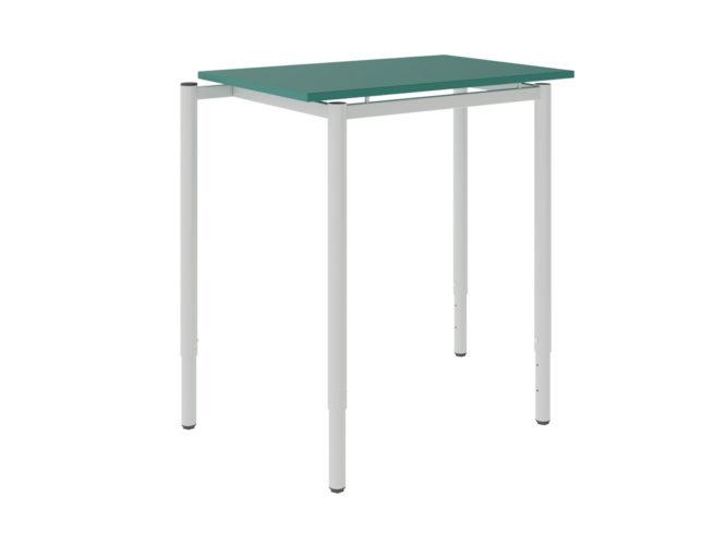 Študentský stôl, dekorit, zaoblené rohy