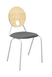 Kaleido čalúnená stolička, preglejkové operadlo