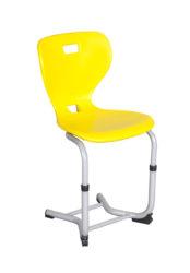 Stolička s plastovým sedákom