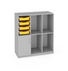 Flex skriňa, na kolieskach, Gratnell's zásuvky