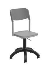 Učiteľská stolička s piestovým mechanizmom, polypropilén