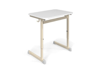 Alex 1-miestny stôl, laminátová doska, zaoblená