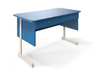 Alex učiteľský stôl, 2 zásuvky, laminátová doska
