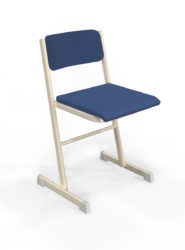 Alex učiteľská stolička, čalúnená