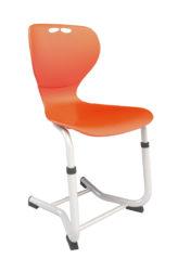 Flex Justy výškovo nastaviteľná stolička, plastový sedák