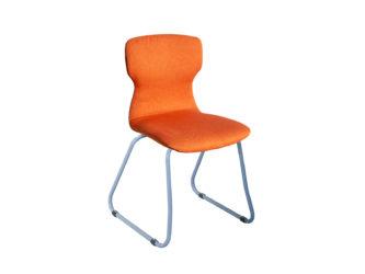 Soliwood stolička, lyžinové nohy, celočalúnená