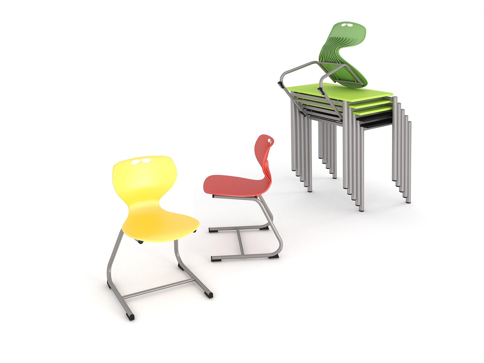 Študentský stôl so zásuvkami, laminát, rohový