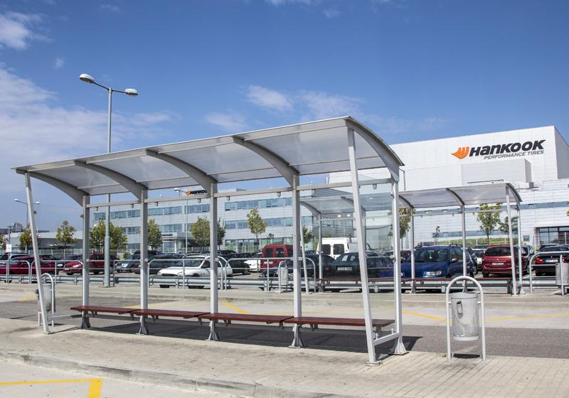 Autobusové zastávky