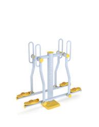 Stroj na posiľňovanie ramien a nôh