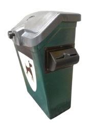 Odpadkový kôš na psie exkrementy