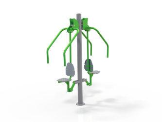 Stroj na posiľňovanie svalstva