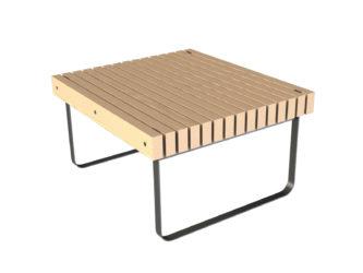 Simplicity stôl, k 2 miestnemu stolu