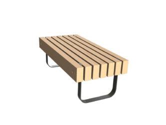 SimpliCity 2 miestna lavica bez operadla
