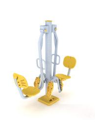 Stroj na posiľňoanie nôh