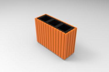 Easy Cube selektívny odpadkový kôš