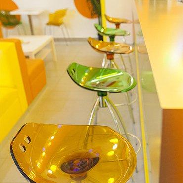 SCA-Frog Barová stolička