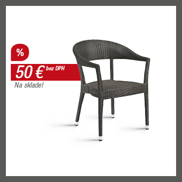 WICKER-Í – Polyratanová stolička