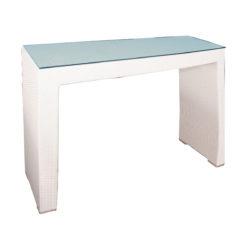 Polyratanový barový stôl