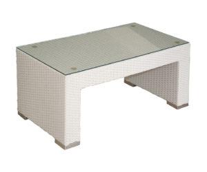 Polyratanový  stôl