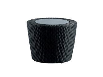 Polyratanový stolík