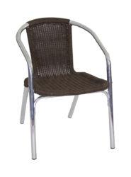 Hliníková stolička