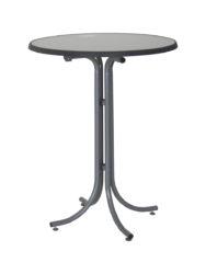 Barový stôl z oceľovej konštrukcie