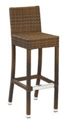 Barová stolička z polyratanu